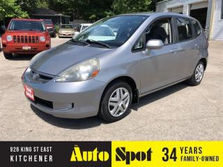 Used 2007 Honda Fit LX/LOW,LOW KMS/PRICED-QUICK SALE! for sale in Kitchener, ON