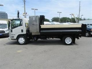 Used 2015 Isuzu NRR 2WD DIESEL WITH 11 FT STEEL DUMP X 2 for sale in Richmond Hill, ON