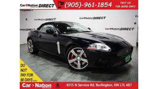 Used 2008 Jaguar XKR | LOW KM'S| NAVI| CONVERTIBLE| LOCAL TRADE| for sale in Burlington, ON