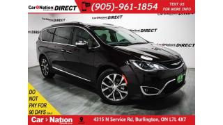 Used 2017 Chrysler Pacifica Limited| DUAL DVD| LANE DEPATURE WARNING| for sale in Burlington, ON