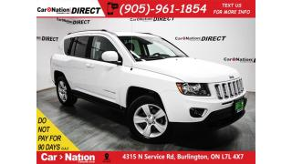 Used 2016 Jeep Compass High Altitude| 4X4| LEATHER| SUNROOF| for sale in Burlington, ON