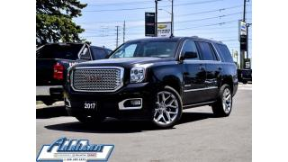 Used 2017 GMC Yukon Denali DVD PWR Steps ALL Options for sale in Mississauga, ON