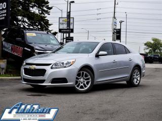 Used 2014 Chevrolet Malibu 1LT - Bluetooth -  Siriusxm for sale in Mississauga, ON