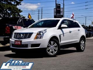 Used 2015 Cadillac SRX AWD Luxury - Sunroof -  Leather Seats for sale in Mississauga, ON