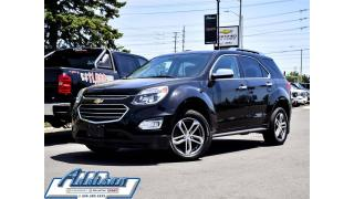 Used 2017 Chevrolet Equinox Premier V-6 AWD Navi Leahter Sunroof for sale in Mississauga, ON