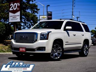 Used 2015 GMC Yukon Denali - Navigation -  Leather Seats for sale in Mississauga, ON