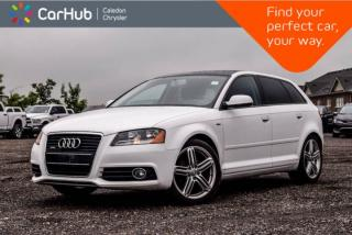Used 2011 Audi A3 2.0T|Quattro|Pano Sunroof|Bluetooth|Heated Front Seats|Leather|17