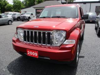Used 2009 Jeep Liberty LOADED LIMITED MODEL 5 PASSENGER 3.7L - V6.. 4X4.. LEATHER.. SUNROOF.. BLUETOOTH.. CD/AUX/USB.. for sale in Bradford, ON