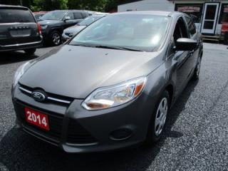 Used 2014 Ford Focus POWER EQUIPPED 5 PASSENGER 2.0L - 4 CYL.. FWD.. CLOTH INTERIOR.. CD/AUX.. KEYLESS ENTRY.. for sale in Bradford, ON