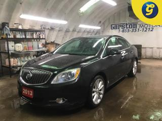 Used 2013 Buick Verano PREMIUM*TURBO*POWER SUNROOF*LEATHER*BLIND SPOT MONITORING*BOSE AUDIO*BACK UP CAMERA*HEATED STEERING WHEEL*PHONE CONNECT*POWER DRIVER SEAT*HEATED FRONT for sale in Cambridge, ON