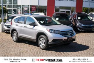 Used 2012 Honda CR-V LX 5 SPD at 4WD for sale in Vancouver, BC