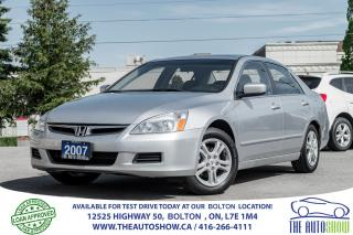 Used 2007 Honda Accord 2.4 LEATHER/ROOF NAVI/GPS 1 OWNER NEW TIRES/BRAKES for sale in Caledon, ON