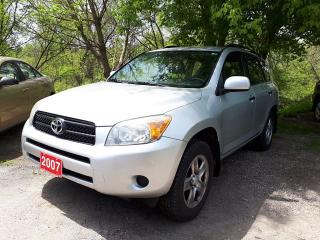 Used 2007 Toyota RAV4 Base,certified for sale in Oshawa, ON
