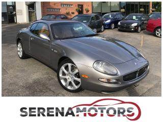 Used 2004 Maserati Coupe Cambiocorsa V8 | 390 HP | NO ACCIDENTS | MINT for sale in Mississauga, ON
