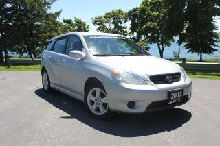 Used 2007 Toyota Matrix XR-ALLOYS| POWER GROUP| KEYLESS ENTRY| FUEL SAVER for sale in Oshawa, ON