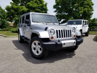 Used 2012 Jeep Wrangler Sahara Unlimited for sale in Woodbridge, ON