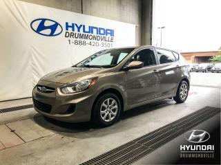 Used 2013 Hyundai Accent L + 5 PORTES + GARANTIE + MANUELLE + WOW for sale in Drummondville, QC