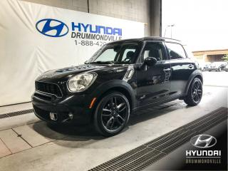 Used 2011 MINI Cooper Countryman S COUNTRYMAN ALL4 + CUIR + MAGS + TOIT + for sale in Drummondville, QC