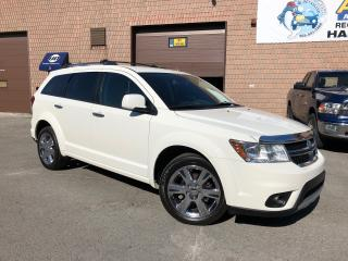 Used 2011 Dodge Journey R/T - 7 PASSENGER - LEATHER - REMOTE START for sale in Aurora, ON