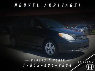 Used 2008 Toyota Matrix XR 5 PORTES + A/C + CRUISE + GROUPE ÉLEC for sale in St-Basile-le-Grand, QC