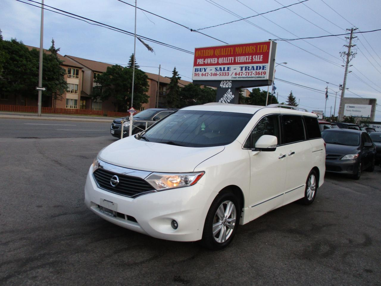 used 2011 nissan quest le for sale in scarborough ontario. Black Bedroom Furniture Sets. Home Design Ideas