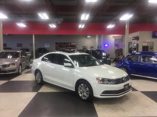 Used 2015 Volkswagen Jetta 2.0L TRENDLINE+ 5 SPEED SUNROOF BACKUP CAMERA 65K for sale in North York, ON