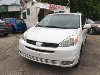Used 2005 Toyota Sienna LE Safety&E Test is Included The price for sale in Scarborough, ON