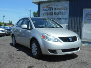 Used 2008 Suzuki SX4 ***BAS KILO,GROUPE ELECTRIQUE*** for sale in Longueuil, QC