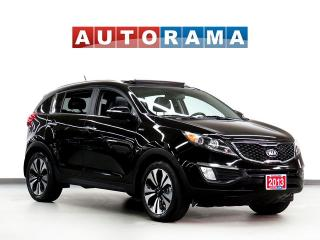 Used 2013 Kia Sportage SX NAVIGATION LEATHER SUNROOF 4WD BACKUP CAMERA for sale in North York, ON