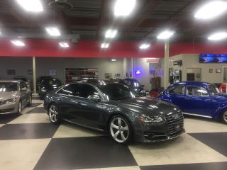 Used 2015 Audi S8 4.0T QUATTRO MASSAGE SEATS NAVI  NIGHT VISON 41K for sale in North York, ON