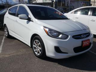 Used 2012 Hyundai Accent Cruise-Control/Aux/Power-Group for sale in Scarborough, ON