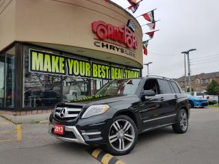 Used 2013 Mercedes-Benz GLK350 GLK 350 P-ROOF LTHR 4WD H-TED SEATS CLEAN CARPROOF for sale in Scarborough, ON