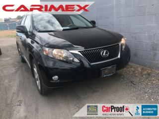 Used 2011 Lexus RX 350 NAVI | Sunroof | Heated Seats for sale in Waterloo, ON