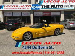 Used 2003 Chevrolet Corvette Base for sale in North York, ON