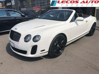 Used 2011 Bentley Continental Supersports Supersports for sale in North York, ON