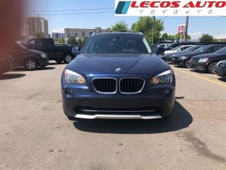 Used 2012 BMW X1 28xi/Nav/Panoramic roof/2 Tone interior/Clean Car for sale in North York, ON