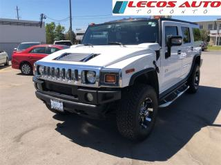 Used 2005 Hummer H2 Black leather interior Sun roof for sale in North York, ON