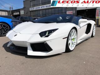 Used 2014 Lamborghini Aventador Roadster for sale in North York, ON