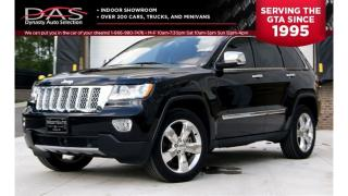 Used 2012 Jeep Grand Cherokee OVERLAND NAVIGATION/PANORAMIC SUNROOF/LEATHER for sale in North York, ON