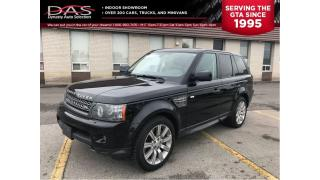 Used 2010 Land Rover Range Rover Sport SUPERCHARGED NAVIGATION/SUNROOF/LEATHER for sale in North York, ON