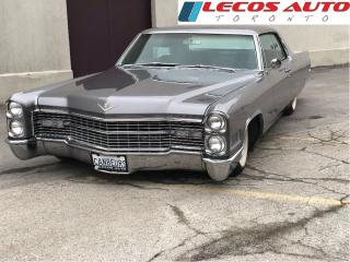 Used 1966 Cadillac DeVille Coupe air ride disc brakes for sale in North York, ON
