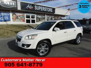 Used 2007 Saturn Outlook XR  AWD LEATHER DUAL-ROOF 8W-SEAT 8-PASS for sale in St Catharines, ON