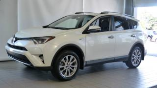 Used 2016 Toyota RAV4 Hybride Limited for sale in Blainville, QC