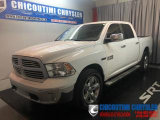 Used 2015 RAM 1500 Cabine multiplaces 4RM, 140,5po Big Hor for sale in Chicoutimi, QC