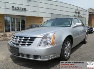 Used 2010 Cadillac DTS ASIS Luxury, Leather, Sunroof, Parking Sensors for sale in Unionville, ON