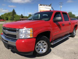 Used 2010 Chevrolet Silverado 1500 LS Crew 4x4 V8! Auto, Air, Cruise, Pwr Windows and Keyless Entry! for sale in Kemptville, ON