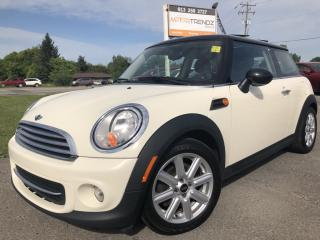 Used 2012 MINI Cooper Classic Manual with Sunroof, Heated Seats, Bluetooth and Pwr Windows with Keyless Entry! for sale in Kemptville, ON