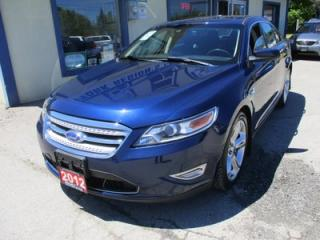 Used 2012 Ford Taurus LOADED SHO-EDITION 5 PASSENGER 3.5L - ECO-BOOST.. AWD.. LEATHER TRIM.. HEATED/AC SEATS.. SYNC TECHNOLOGY.. BACK-UP CAMERA.. for sale in Bradford, ON