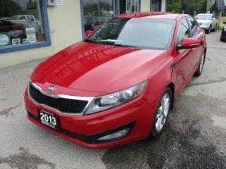 Used 2013 Kia Optima LOADED EX-GDI MODEL 5 PASSENGER 2.4L - DOHC.. LEATHER.. HEATED SEATS.. UVO TECHNOLOGY.. BACK-UP CAMERA.. BLUETOOTH.. for sale in Bradford, ON