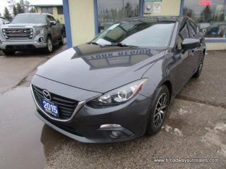 Used 2015 Mazda MAZDA3 FUEL EFFICIENT TOURING EDITION 5 PASSENGER 2.0L - DOHC.. SKY-ACTIV TECHNOLOGY.. HEATED SEATS.. BACK-UP CAMERA.. BLUETOOTH SYSTEM.. POWER SUNROOF.. for sale in Bradford, ON
